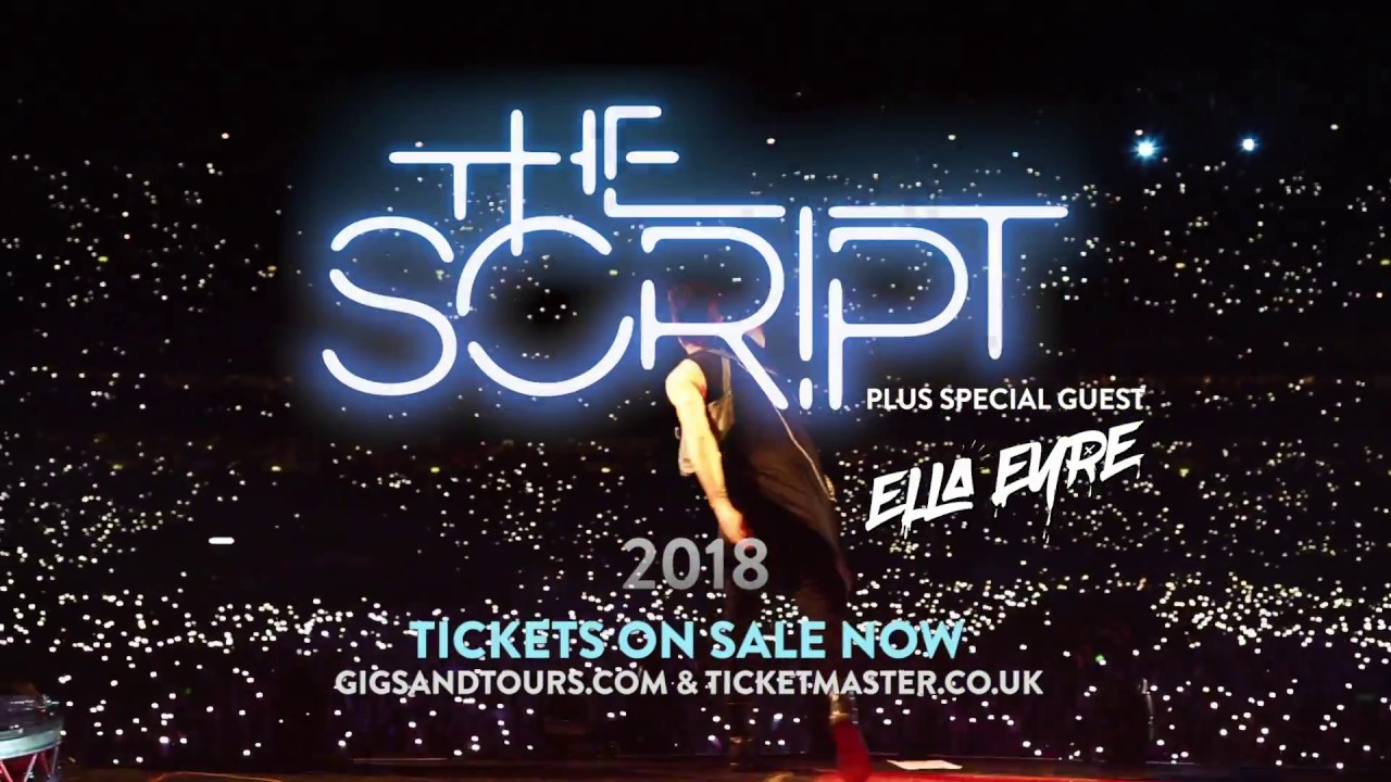The Script Tour Dates  Europe