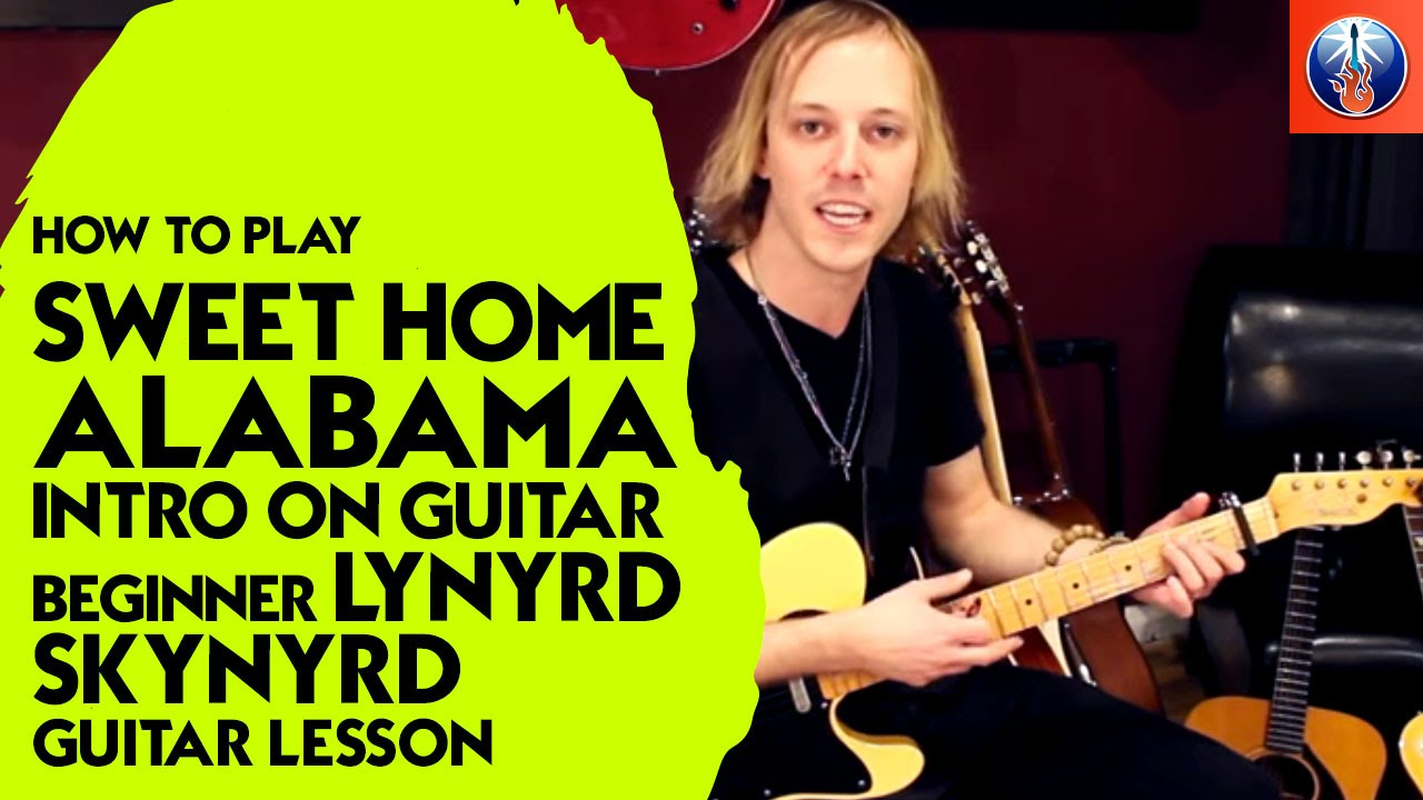 The other guitars are missing but you can play without that. How To Play Sweet Home Alabama Intro On Guitar Guitar Control