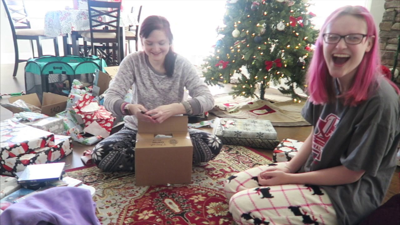 Opening Presents Christmas Morning 2019 Youtube