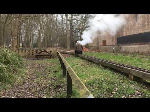 """Britannia 70039 """"Sir Christopher Wren"""" Steam Test 100217"""