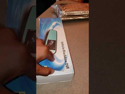 """THE REVOLUTIONARY 4G 9"""" Dash Cam Car Camera DVR GPS Bluetooth Dual Lens Rearview Mirror Video Record"""