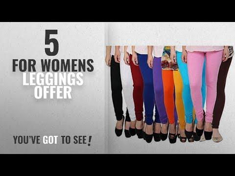 Top 10 For Womens Leggings Offer [2018]: Super Weston Multicolor leggings for Womens Free Size Pack