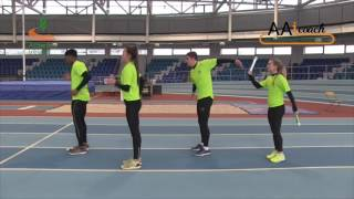 Relays - 4x1 Squad Drill Static - Tap/Take