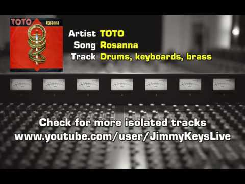 TOTO - Rosanna Isolated track drums, keyboards and brass