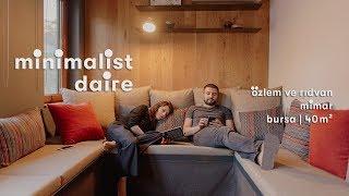 Özlem ve Rıdvan'ın Bursa'daki 40 m² Minimalist Evi