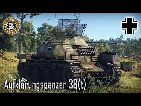 War Thunder - Aufklärungspanzer 38(t), German Premium Tier-1 Light Tank