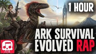 "Ark Survival Evolved Rap (1 HOUR) By JT Music feat. Dan Bull - ""Apex Predator"""