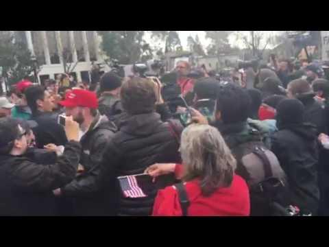 Fights at UC Berkeley March 4 Trump