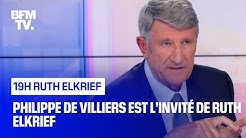 Philippe de Villiers face à Ruth Elkrief