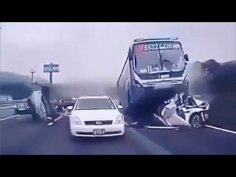 Crazy Car Crashes Caught On Camera
