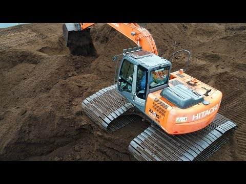 Super Low Ground pressure Hitachi Excavator