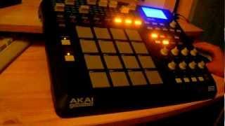 Underground beat in AKAI MPD32