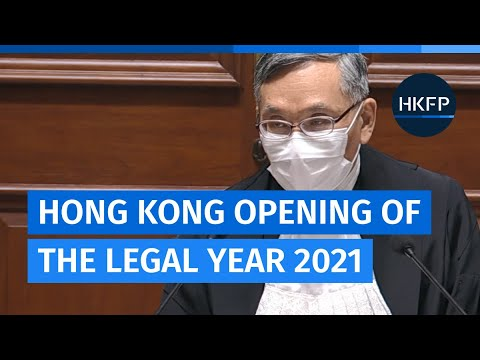 In Full: Hong Kong Opening of the Legal Year, 2021