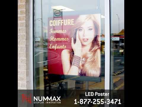 LED Poster 4MB - Nummax Display Innovation