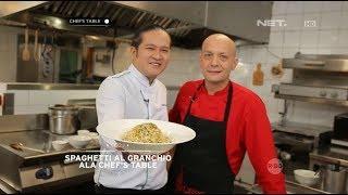 Chef's Table - Spaghetti Al Granchio Ala Chef's Table With Chef Gianfranco Pirrone