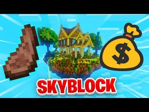 THE $200 MILLION RECIPE! - Minecraft SKYBLOCK #21 (Season 1)