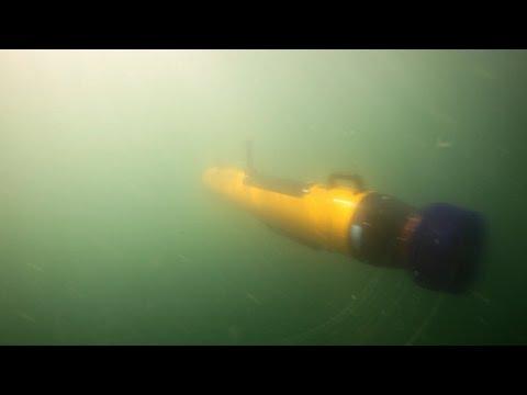 Autonomous Underwater Vehicle Data Processing Workflows