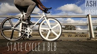 State Cycle X Brick Lane Bikes | Aerospoke | My Fixie | Ash Bash