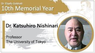 KatsuhiroNishinari TheUnivOfTokyo Professor
