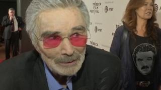 Burt Reynolds makes rare public appearance