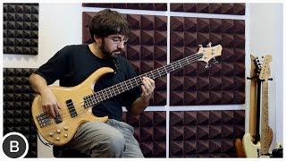 AWESOME SLAP BASS LOOP SOLO - ALEJANDRO MASAFRET | BassTheWorld.com
