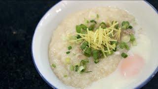 Jok | Congee | Breakfast Rice Porridge Recipe โจ้กหมู - Hot Thai Kitchen!