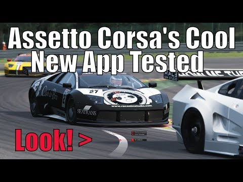 Assetto Corsa's New 3D Map App - Gameplay and Replay with Download Link