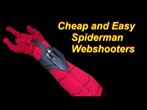 Spiderman Costume Tutorial: DIY Web Shooters