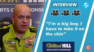 Michael van Gerwen REACTS to World Championship  final Loss |