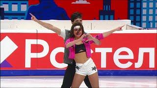Елизавета Худайбердиева Егор Базин Ритм танец Предсезонные контрольные прокаты 2021