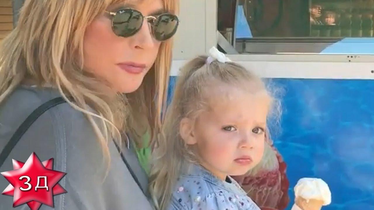 ДЕТИ ПУГАЧЕВОЙ И ГАЛКИНА: Лиза и Гарри в зоопарке, июль ...
