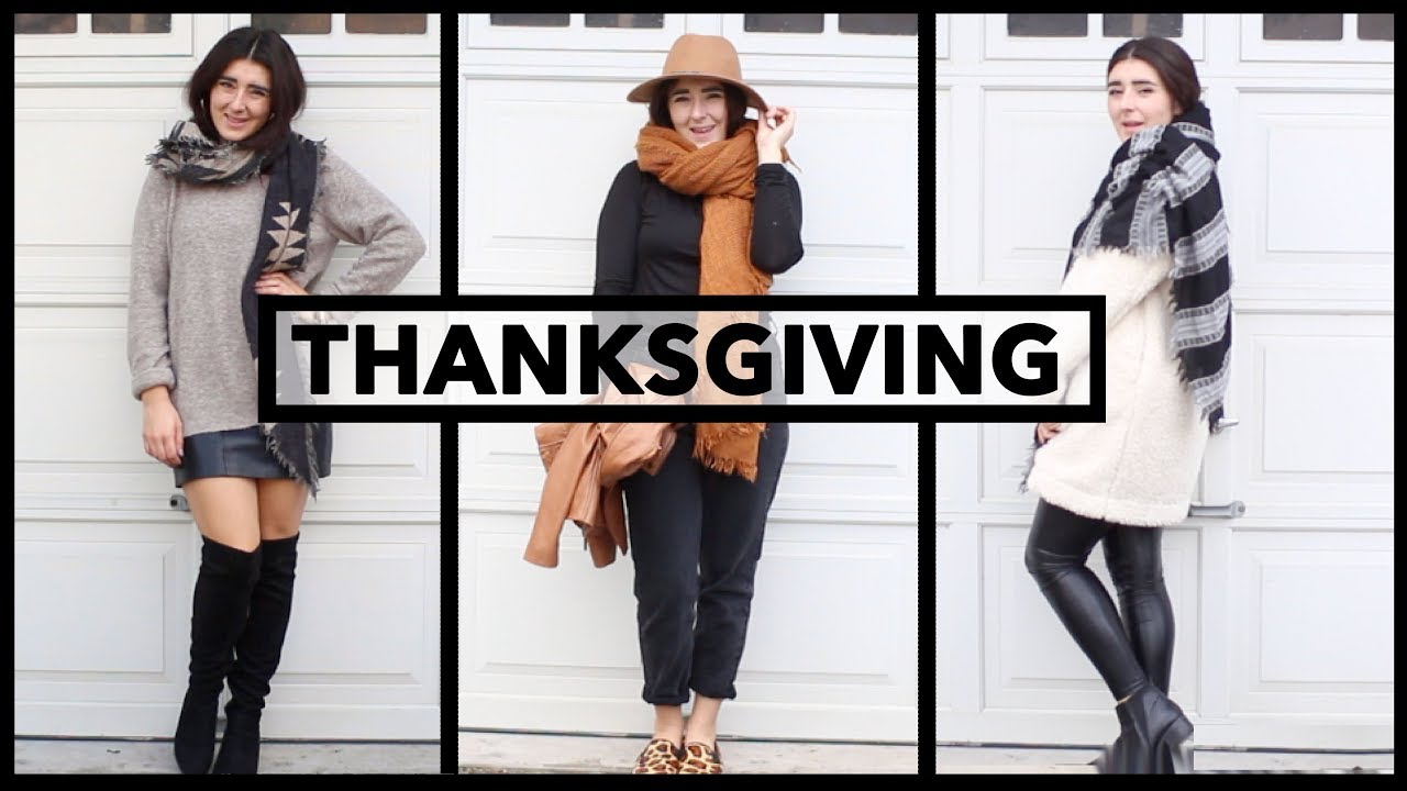 [VIDEO] - Thanksgiving/ Fall Outfits & Lookbook 2