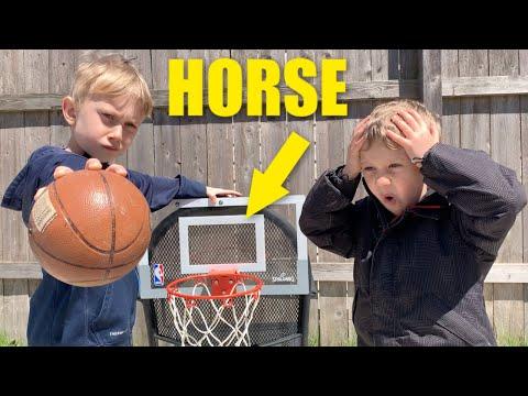 Mini Basketball Trick