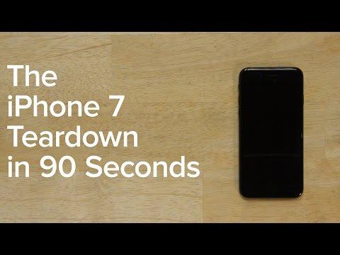 iPhone 7 Teardown in 90 seconds!
