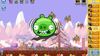 Angry Birds Friends/ SantaCoal i CandyClaus tournament, week 292/2, level 1