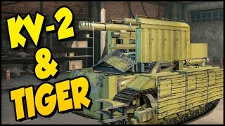 Crossout ➤ Tiger Tank, KV-2 Tank & Thunderbolt Dune Buggy! [Crossout Gameplay]