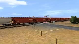 Trainz Simulator 2 Mac - BNSF Grain on the Clovis Sub