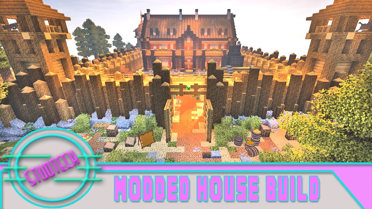 Minecraft: How to Build a House - New Modded Designs (StudTech Ep 12)
