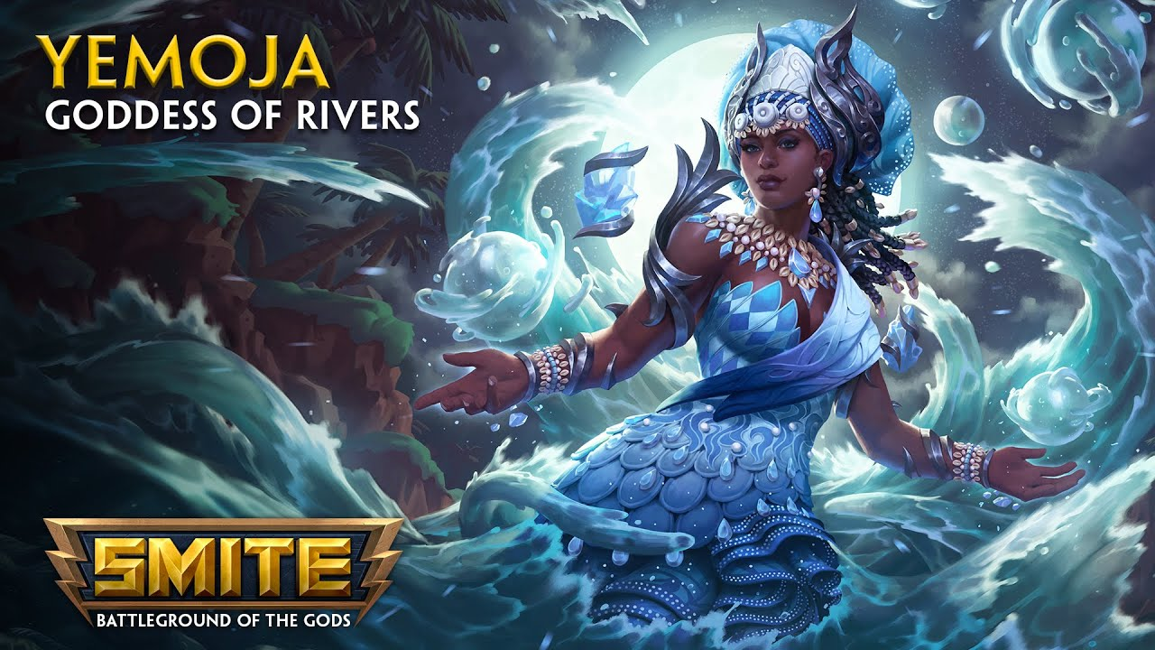 Download SMITE - God Reveal - Yemoja, Goddess of Rivers