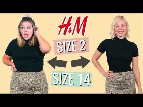 Size 2 vs. Size 14 Try the Same Outfits from H&M!