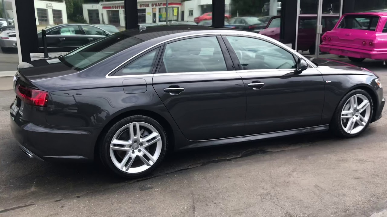 2016 Audi A6 2 0T Quattro For Sale - YouTube