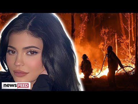 Dreena Gonzalez - Kylie Jenner Donates $1Million to Australia Fire Rescue Amid Backlash