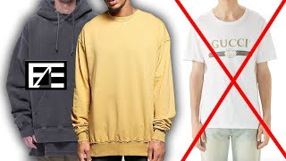WHY YOU SHOULD BE BUYING OVERSIZED CLOTHES (STREETWEAR)