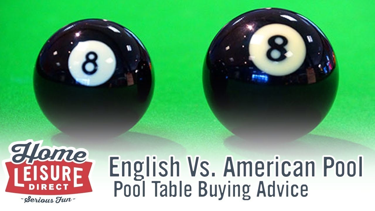 What Are The Differences Between English And American Pool Pool - British pool table