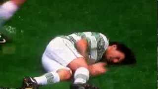 Louis Tomlinson vs Agbonlahor - One Direction Football/Soccer injury