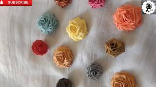 Quilling Rose Flowers Making
