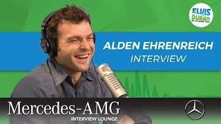 Alden Ehrenreich on 'Solo: A Star Wars Story' | Elvis Duran Show