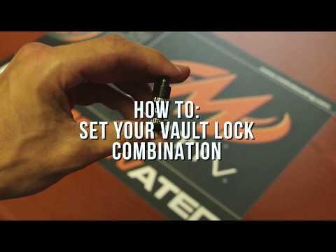 Vault Roller - Lock Instructions