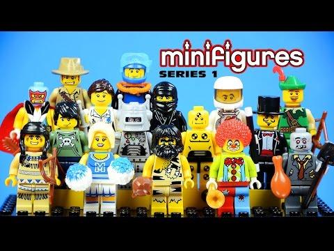LEGO Minifigures Series 1 KnockOffs (Bootleg)
