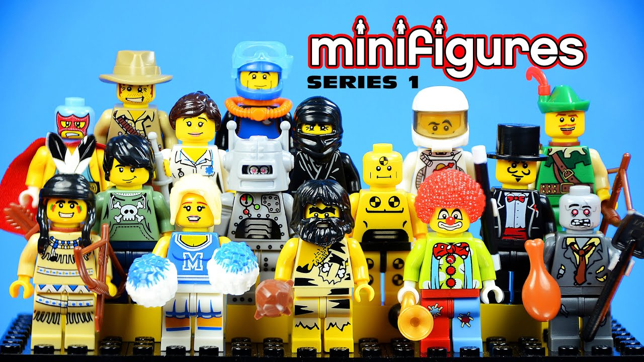 lego minifigures series 1 knockoffs bootleg youtube. Black Bedroom Furniture Sets. Home Design Ideas